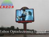 P16 LED al aire libre de la cartelera de visualización de publicidad