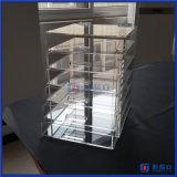 Коробка 2016 состава фабрики изготовленный на заказ акриловая с ящиками
