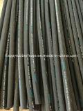 Quatro cabos de aço reforçado em espiral a mangueira hidráulica 4SP