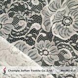 Cordón elástico de la tela al por mayor para el accesorio de la ropa (M1417)
