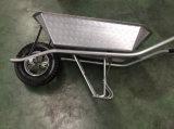 Wheelbarrow galvanizado soldado resistente forte