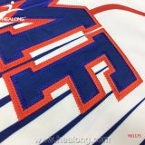 Logo d'Applique du Jersey de base-ball d'impression de Teindre-Sublimation de Healong Sporstwear