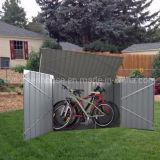 Galpão de Armazenagem Exterior Resistente Jardim Galpão de Bicicletas (BS7'X3')