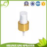 24-410 Golden crème en aluminium avec bouchon de pompe
