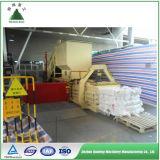 Machine automatique hydraulique de presse à emballer de papier de rebut