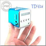 Портативный цифровой мини-динамик с карты памяти Micro SD / TF / USB /FM (TD-V26)