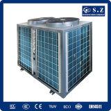 25~256cubeメートル暖かい水12kw/19kw/35kw/70kwチタニウムの管Cop4.62のプールのヒートポンプのための全天候用サーモスタット32deg c
