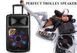 De openlucht Professionele Spreker van het Vervoer van de Karaoke van DJ van het Karretje Draadloze Actieve