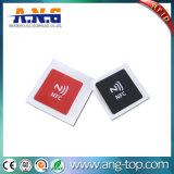 E支払のための13.56MHz Hf NFC Ntag215 RFIDのステッカーの札