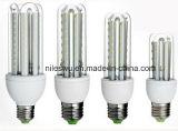 Luz da luz E27 9W 2835 SMD do milho do diodo emissor de luz da forma de U
