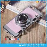 iPhone 6/6sのためのPC+Siliconeのカメラの携帯電話カバーと