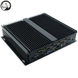 Mini PC Ipc-Nfd10, calcolatore industriale poco costoso di Itx dell'Intel Celeron 1037u di CC 12V 1037u Fanless mini