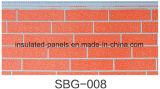 Высеканные декоративные панели стены металла для внешней изоляции