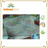 Full Color Custom Printed Logoの卸し売りPVC Coated Cotton Shopping Bag