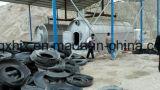 pyrolysis와 증류법 프로세스에 의하여 석유 정제 기계장치에 타이어