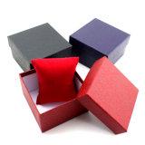 Caixa de presente de couro de papel do indicador da embalagem do relógio (YS1018A)