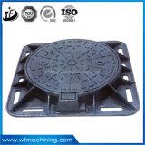 Fabbricazione duttile del coperchio di botola del ferro del pezzo fuso di sabbia di En124 D400 800mm
