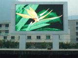 Visualización de LED al aire libre a todo color P10 para hacer publicidad