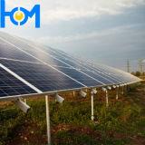 glace inférieure durcie par 3.2mm de panneau solaire de fer d'arc avec la transmittance élevée