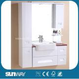 Горячая продажа MDF ванной комнате с зеркалом шкаф Sw-M001