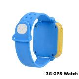 perseguidor do relógio de 3G WiFi GPS com giro da câmera de 3.0m (D18)
