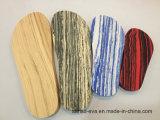 Sottopiede di legno di EVA del grano fatto dalla muffa fredda della pressa
