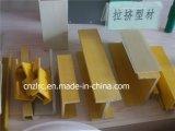 En fibre de verre de haute qualité Pultruded Pultrusion Profil PRF
