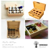 Doos Wholesale_D van de Opslag van de Essentiële Oliën van Hongdao de Houten