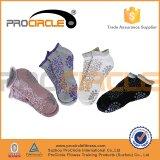 Heißes Selling Skid Yoga Pilates Socks mit Grips Cotton
