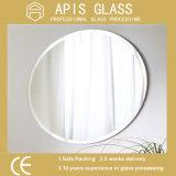 vetro interno dell'acquazzone dello specchio rivestito d'argento rotondo di 5mm con il bordo Polished smussato