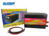 Suoer الجديد السلطة العاكس 1000W الطاقة الشمسية العاكس 12V إلى 220V تعديل شرط موجة السلطة العاكس للاستخدام المنزلي مع CE & بنفايات (HDA-1000A)