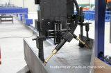 トラックのトレーラータンクのための可変的なビーム溶接機
