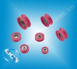 Guida di ceramica della puleggia del rullo di ceramica per la macchina di bobina
