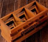Boîte à huile essentielle en bois massif