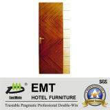 Portes en bois d'hôtel de qualité (EMT-HD01)
