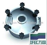 Tampa sanitária de poço de aço inoxidável (IFEC-MH100005)