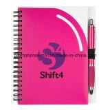 Cadernos personalizados com ligação em espiral