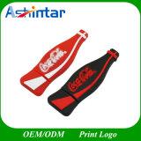 Lecteur flash USB de bouteille de carte mémoire Memory Stick du coke USB 2.0