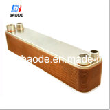 Brazed de cobre Plate Heat Exchanger para Heat Pump Systems