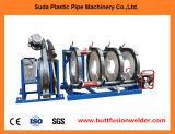 Appareil à souder en plastique de pipe de HDPE de Sud630h