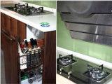 パネルの台所家具のメラミン食器棚(zg-016)