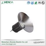 5 luz industrial de la bahía del almacén 100W LED de la fábrica de la garantía del año alta