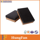 Schwarzes gedruckter Packpapier-Papverpackungs-Kasten