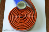 Silikon-Gummi-Fiberglas-hitzebeständige Feuer-Hochtemperaturhülse