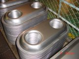 Металл штемпелюя части с кромом и электрофорезом