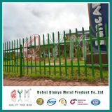 강철 Palisade Fencing/8X8 담 Panels/1.8m PVC 입히는 안전 Palisade 검술