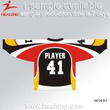 Healong Soem-Entwurfs-Schnitt und nähendes Eis-Hockey Jersey