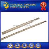 Fio de alta temperatura trançado de fibra de vidro de níquel puro