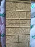 Superficie de metal repujado decorativo exterior de aluminio con aislamiento de panel de pared