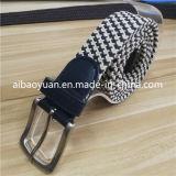 Cinghia Braided elastica di modo della cinghia del grano diritto